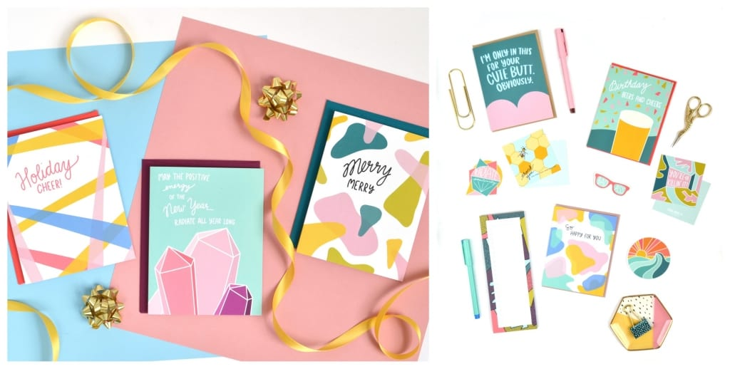 Greeting card and other stationery gifts